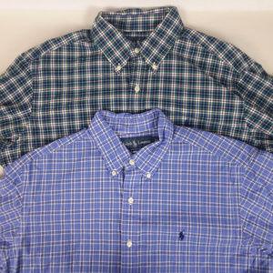 Ralph Lauren Classic Fit Large Dress Shirts Checks